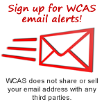 Sign Up for WCAS Email Alerts!