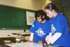 Students at Science Olympiad © Nancy Howell